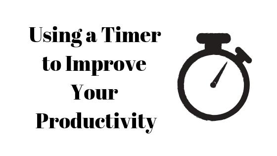 Как использовать таймер для повышения производительности
