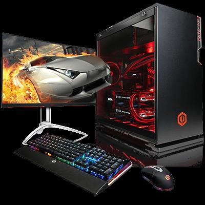Готовые игровые компьютеры: CyberPowerPC против iBUYPOWER
