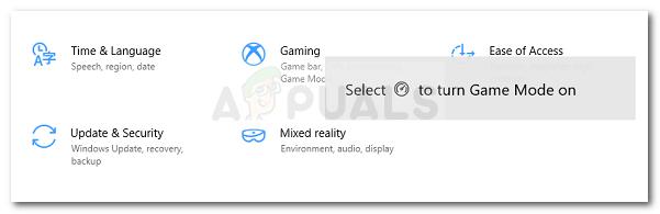 Как отключить уведомления игрового режима в Windows 10