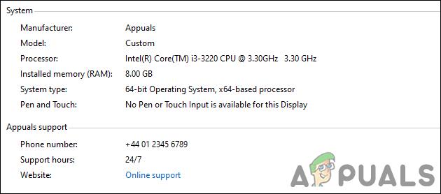 Как настроить информацию о поддержке OEM в Windows 10?