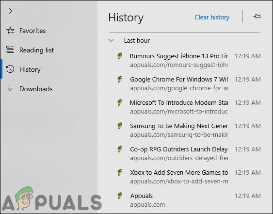 Как запретить Microsoft Edge сохранять историю в Windows 10?