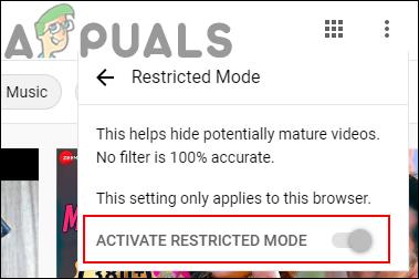 Как включить и отключить ограниченный режим YouTube в Microsoft Edge?