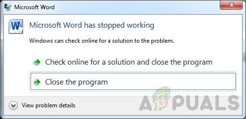 Как исправить перестал работать Microsoft Word в Windows 10?