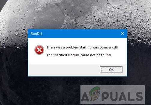 [FIX] Ошибка Winscomrssv.Dll при запуске