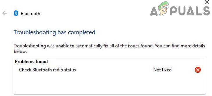 """Как исправить """"Проверить статус радио Bluetooth"""" в Windows?"""