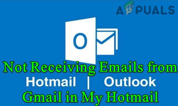 Я не получаю электронные письма Gmail в моих учетных записях Hotmail (исправлено)