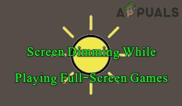 Устранение затемнения экрана при игре в полноэкранный режим (Fix)