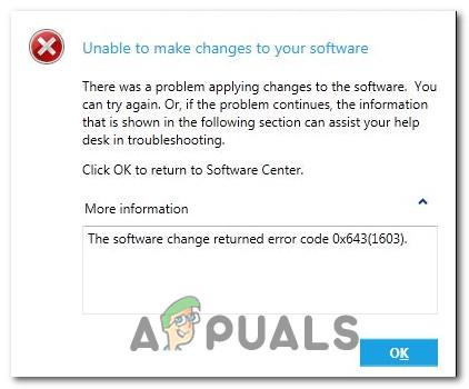 Как исправить код ошибки 0x643 в Windows 10