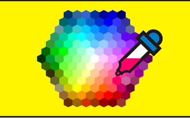 Как выбрать цветовой код для любого изображения?