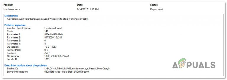 Исправьте ошибку 141 LiveKernelEvent в Windows (аппаратная ошибка)