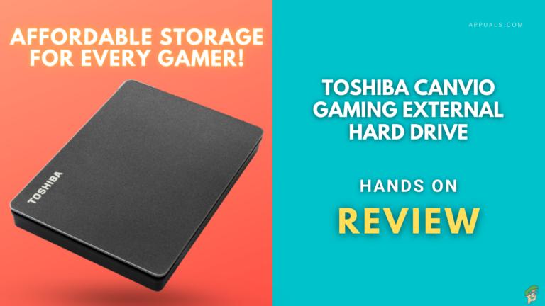 Обзор внешнего жесткого диска Toshiba Canvio Gaming: работа сделана!