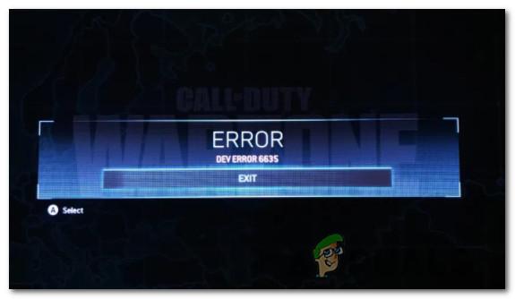 Исправлено: ошибка разработчика 6635 в COD Warzone и Modern Warfare.