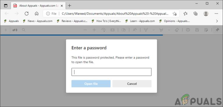 Как добавить / удалить пароль из PDF-файла
