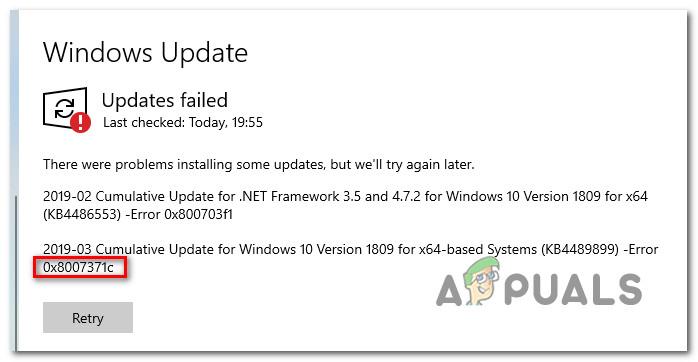Устранение ошибки Центра обновления Windows 0X8007371C в Windows 10