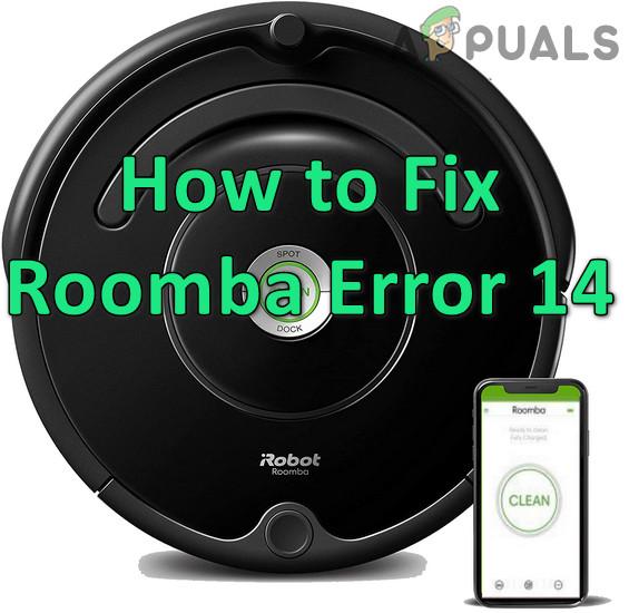 Как исправить ошибку 14 или 1-4 на Roomba (Roomba не обнаруживает установленную корзину)