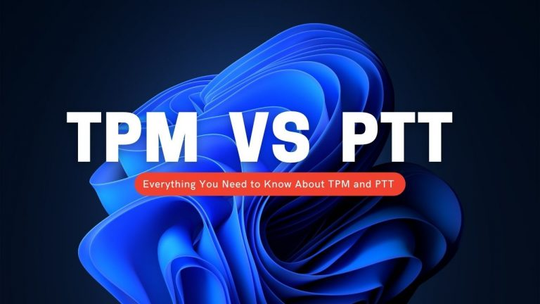 PTT против TPM: усилия Microsoft по обеспечению безопасности для Windows 11