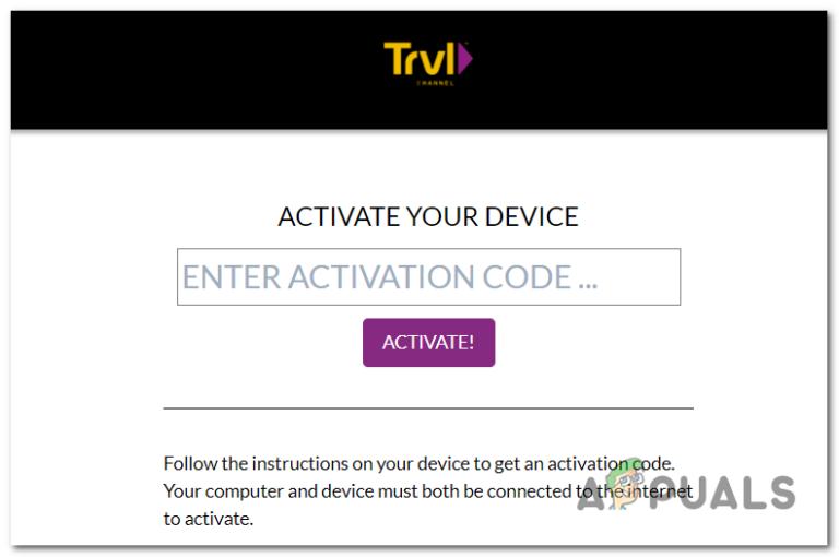 Активировать Travel Channel на Smart TV, Xbox и других устройствах