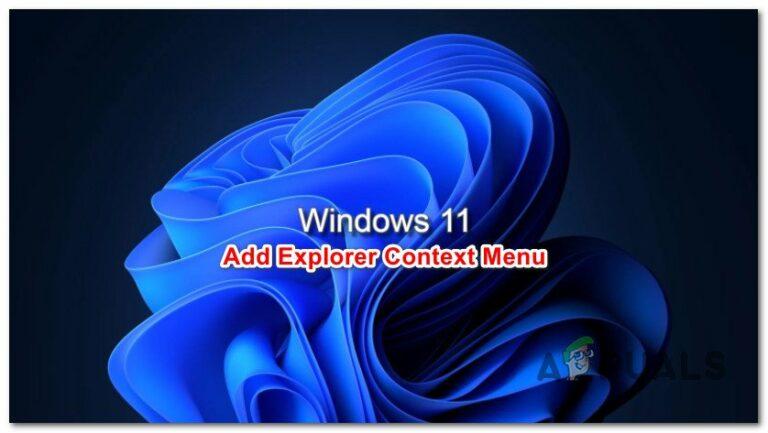 Как добавить контекстное меню перезапуска проводника в Windows 11