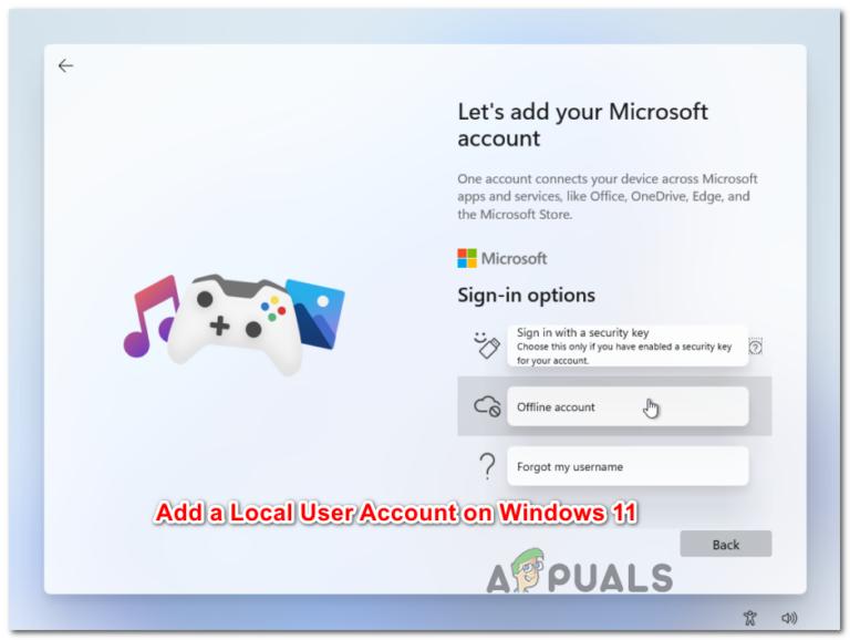 Как создать или добавить автономную локальную учетную запись пользователя в Windows 11