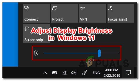 Как настроить яркость дисплея в Windows 11
