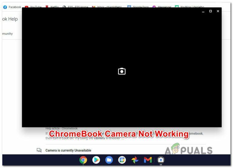 Камера не работает на Chromebook?  Вот как это исправить