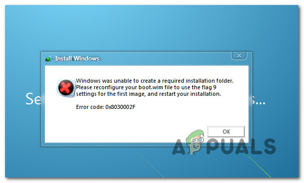 Исправить «Код ошибки: 0x8030002F» при установке или обновлении Windows?