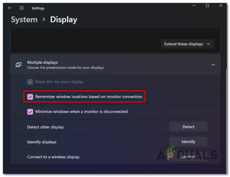 Как отключить или включить функцию запоминания расположения окон в Windows 11