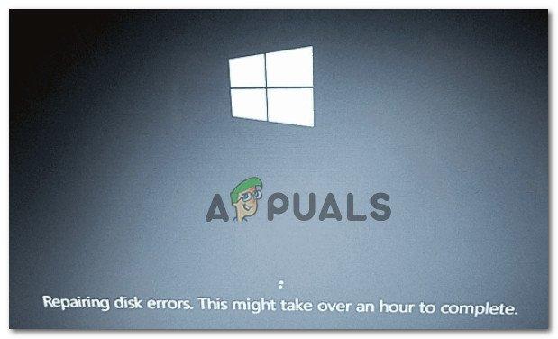 Устранение неполадок, связанных с зависанием Windows 10 на «Исправлении ошибок диска»