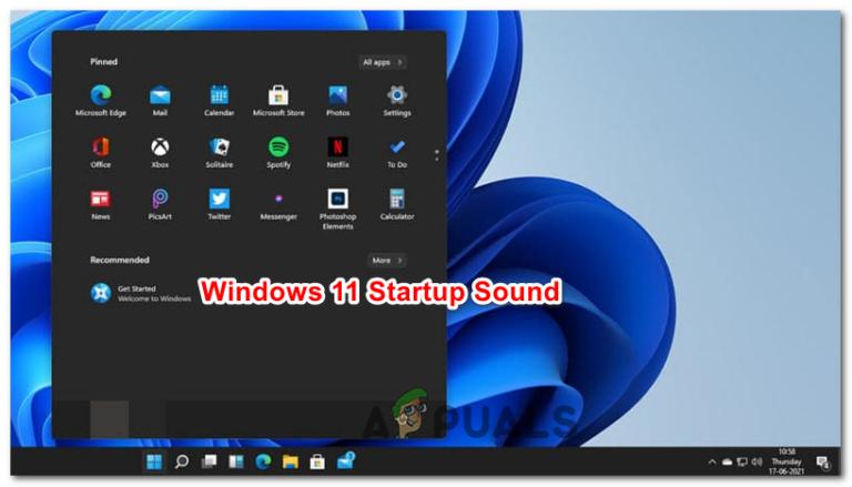 Как отключить звук при запуске в Windows 11