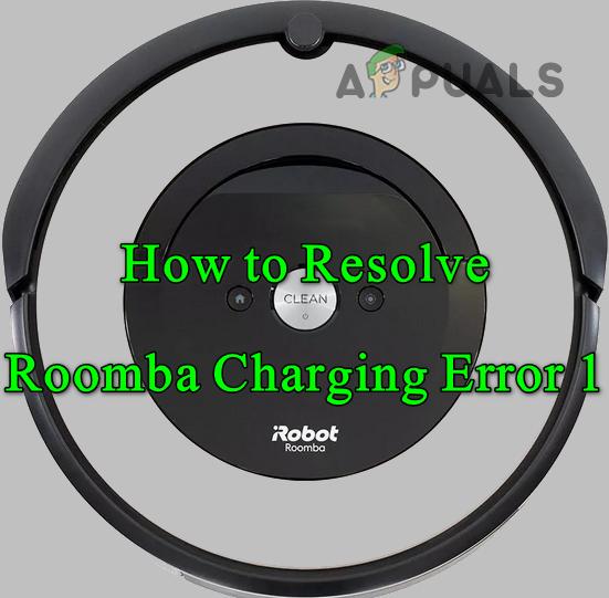 Устранение неполадок при зарядке Roomba: ошибка 1 (аккумулятор не обнаружен)