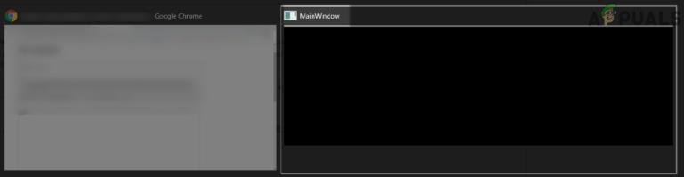 Как исправить странное окно MainWindow на рабочем столе