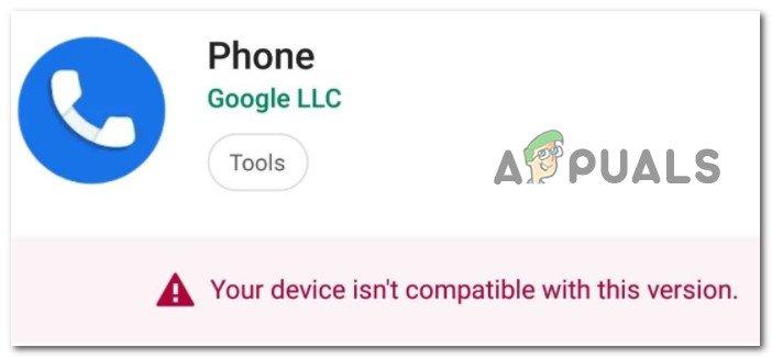 Как исправить ошибку «Устройство несовместимо с этой версией» в магазине Google Play