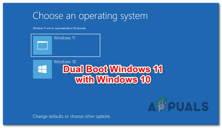 Как выполнить двойную загрузку Windows 11 с Windows 10?