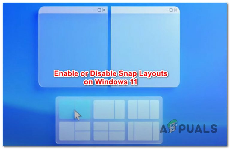 Как включить или отключить макеты Snap в Windows 11