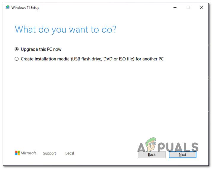 Как создать загрузочный установочный USB-носитель Windows 11