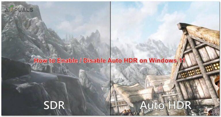 Как включить или отключить автоматический HDR в играх на Windows 11