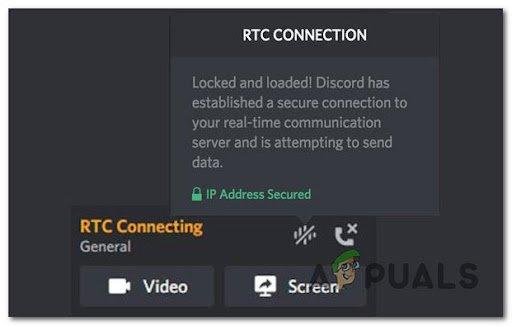 Как исправить зависание Discord на «RTC Connecting»