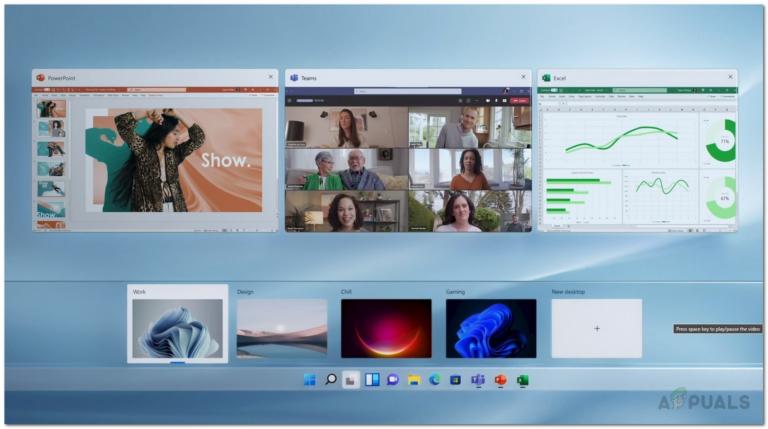 Как использовать виртуальные рабочие столы в Windows 11?