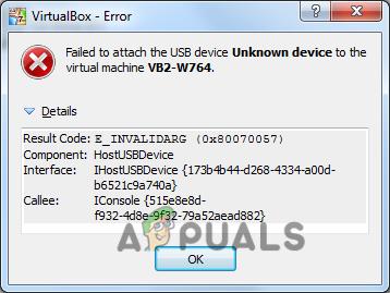 Как устранить ошибку VirtualBox при подключении USB?