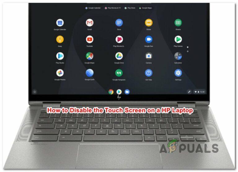 Как отключить сенсорный экран на ноутбуке HP