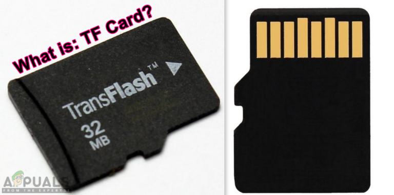 Что такое: карта TF (TransFlash) и чем она отличается от Micro SD?