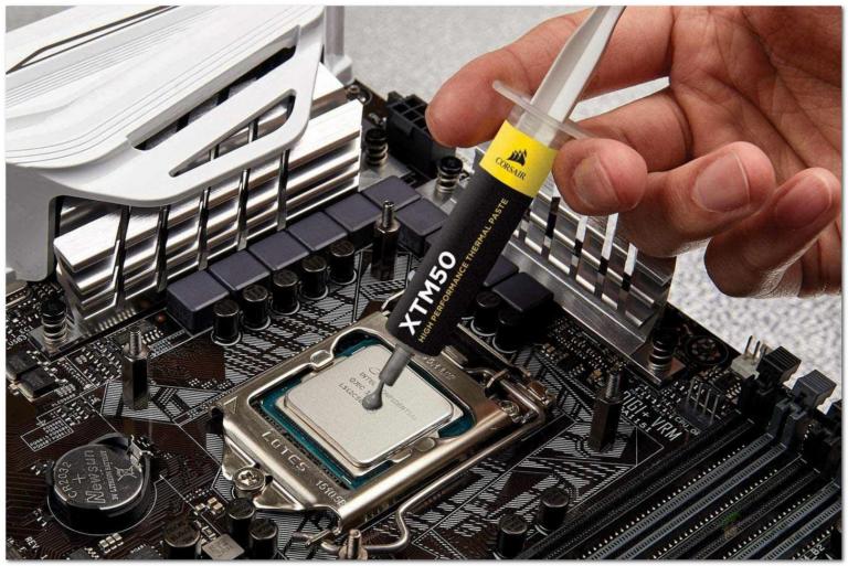 Как удалить термопасту с вашего процессора или графического процессора?