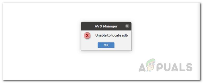 Как исправить «Невозможно найти ADB»?